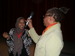Nuha, Winner of Youth Showcase
